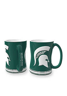 Boelter 14-oz. NCAA Michigan State Spartans 2-pack Relief Sculpted Coffee Mug Set