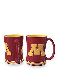 Boelter 14-oz. NCAA Minnesota Gophers 2-pack Relief Sculpted Coffee Mug Set
