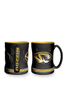 Boelter 14-oz. NCAA Missouri Tigers 2-pack Relief Sculpted Coffee Mug Set