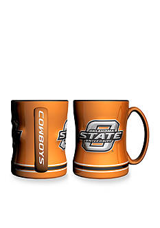 Boelter 14-oz. NCAA Oklahoma State Cowboys 2-pack Relief Sculpted Coffee Mug Set