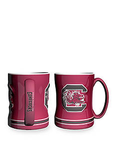 Boelter 14-oz. NCAA South Carolina Gamecocks 2-Pack Relief Sculpted Coffee Mug Set