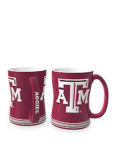 Boelter 14-oz. NCAA Texas A & M Aggies 2-Pack Relief Sculpted Coffee Mug Set