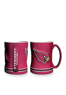 Boelter 14-oz. NFL Arizona Cardinals 2-pack Relief Sculpted Coffee Mug Set