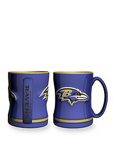 Boelter 14-oz. NFL Baltimore Ravens 2-pack Relief Sculpted Coffee Mug Set