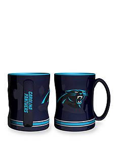 Boelter 14-oz. NFL Carolina Panthers 2-pack Relief Sculpted Coffee Mug Set