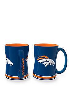 Boelter 14-oz. NFL Denver Broncos 2-Pack Relief Sculpted Coffee Mug Set