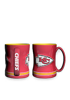 Boelter 14-oz. NFL Kansas City Chiefs 2-pack Relief Sculpted Coffee Mug Set