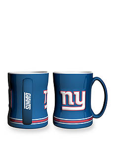 Boelter 14-oz. NFL New York Giants 2-pack Relief Sculpted Coffee Mug Set