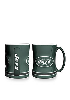 Boelter 14-oz. NFL New York Jets 2-pack Relief Sculpted Coffee Mug Set