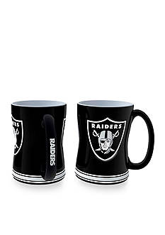 Boelter 14-oz. NFL Oakland Raiders 2-pack Relief Sculpted Coffee Mug Set