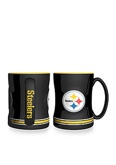 Boelter 14-oz. NFL Pittsburgh Steelers 2-pack Relief Sculpted Coffee Mug Set