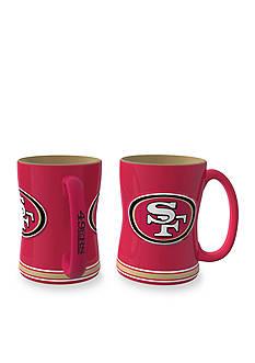 Boelter 14-oz. NFL San Francisco 49ers 2-pack Relief Sculpted Coffee Mug Set