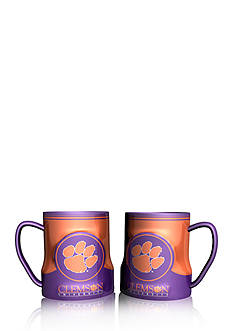 Boelter NCAA Clemson Tigers 2-pack Gametime Coffee Mug Set