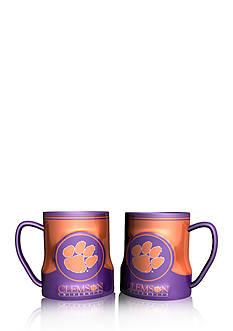 Boelter NCAA Clemson Tigers 2-pack Gametime Coffee Mug Set