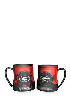 Boelter NCAA Georgia Bulldogs 2-pack Gametime Coffee Mug Set