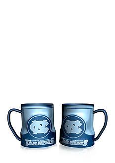 Boelter NCAA UNC Tar Heels 2-pack Gametime Coffee Mug Set