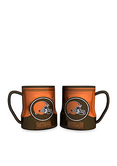 Boelter 18-oz. NFL Cleveland Browns 2-pack Gametime Coffee Mug Set