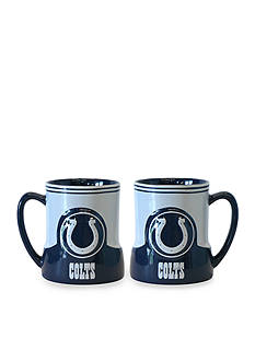 Boelter 18-oz. NFL Indianapolis Colts 2-pack Gametime Coffee Mug Set