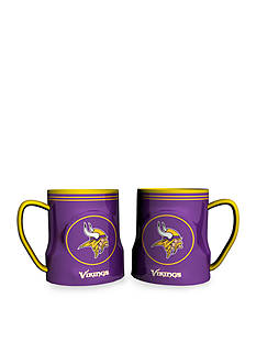 Boelter 18-oz. NFL Minnesota Vikings 2-pack Gametime Coffee Mug Set