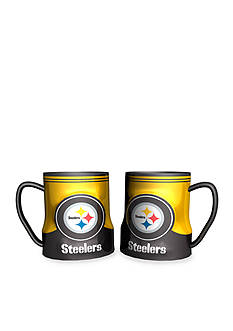 Boelter 18-oz. NFL Pittsburgh Steelers 2-pack Gametime Coffee Mug Set