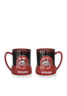 Boelter 18-oz. NFL San Fransisco 49ers 2-pack Gametime Coffee Mug Set