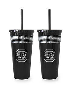 Boelter 22-oz. NCAA South Carolina Gamecocks 2-pack Bling Tumbler with Straw