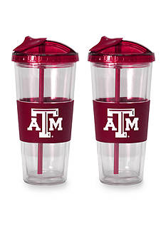 Boelter 22-oz. NCAA Texas A&M Aggies 2-pack No Spill Straw Tumbler