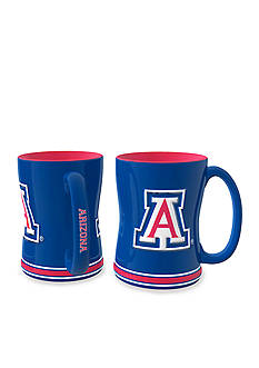 Boelter 14-oz. NCAA Arizona Wildcats 2-Pack Relief Sculpted Coffee Mug Set