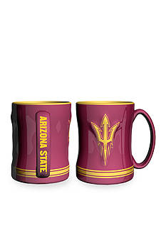 Boelter 14-oz. NCAA Arizona State Sun Devils 2-pack Relief Sculpted Coffee Mug Set