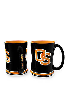 Boelter 14-oz. NCAA Oregon State Beavers 2-pack Relief Sculpted Coffee Mug Set