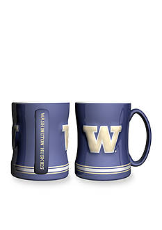 Boelter 14-oz. NCAA Washington Huskies 2-pack Relief Sculpted Coffee Mug Set