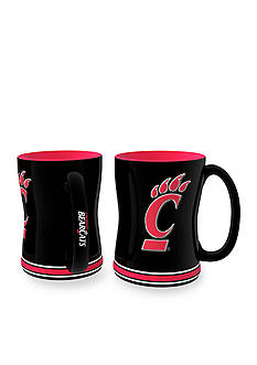 Boelter 14-oz. NCAA Cincinnati Bearcats 2-pack Relief Sculpted Coffee Mug Set