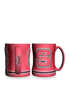 Boelter 14-oz. NCAA NC State Wolfpack 2-pack Relief Sculpted Coffee Mug Set