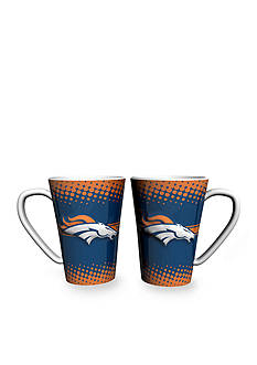 Boelter 16-oz. NFL Denver Broncos 2-pack Latte Coffee Mug Set