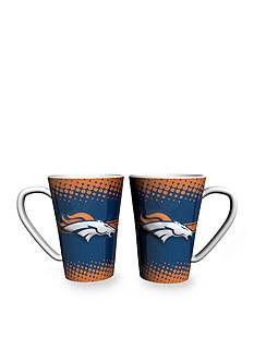 Boelter 16-oz. NFL Denver Broncos 2-pack Latte Coffee Mug Set