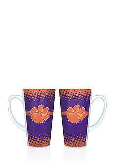 Boelter 16-oz. NCAA Clemson Tigers 2-pack Latte Coffee Mug Set