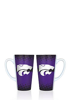 Boelter 16-oz. NCAA Kansas State Wildcats 2-pack Latte Coffee Mug Set