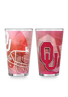 Boelter 16-oz. NCAA Oklahoma Sooners 2-Pack Shadow Sublimated Pint Glass Set