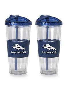 Boelter 22-oz. NFL Denver Broncos 2-pack No Spill Straw Tumbler