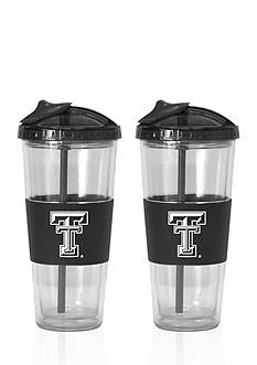 Boelter 22-oz. NCAA Texas Tech Red Raiders 2-pack No Spill Straw Tumbler