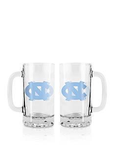 Boelter 16-oz. NCAA UNC Tarheels 2-pack Glass Tankard Set