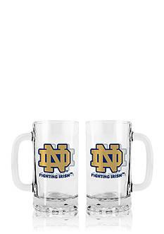 Boelter 16-oz. NCAA Notre Dame Fighting Irish 2-pack Glass Tankard Set
