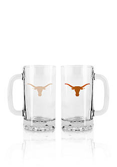 Boelter 16-oz. NCAA Texas Longhorns 2-pack Glass Tankard Set