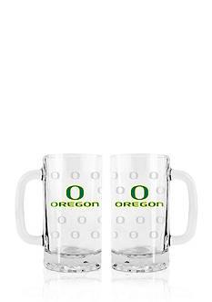 Boelter 16-oz. NCAA Oregon Ducks 2-pack Glass Tankard Set