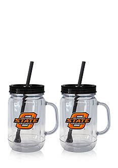 Boelter 20-oz. NCAA Oklahoma State Cowboys 2-pack Straw Tumbler with Handle