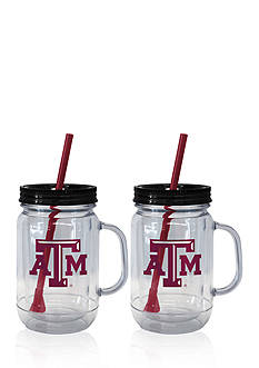 Boelter 20-oz. NCAA Texas A & M Aggies 2-pack Straw Tumbler with Handle