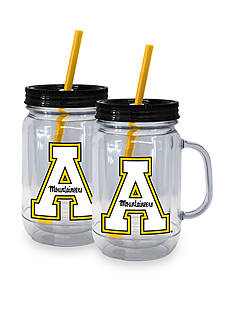 Boelter 20-oz. NCAA Appalachian State Mountaineers 2-pack Straw Tumbler with Handle