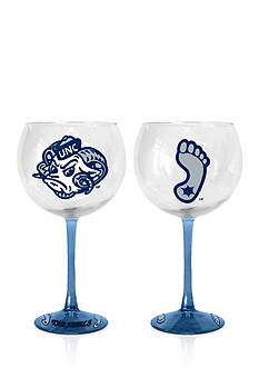 Boelter 20-oz. NCAA UNC Tar Heels 2-pack Balloon Wine Glass Set