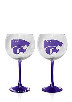 Boelter 20-oz. NCAA Kansas State Wildcats 2-pack Balloon Wine Glass Set