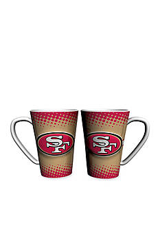 Boelter 16-oz NFL San Francisco 49ers 2-pack Latte Coffee Mug Set